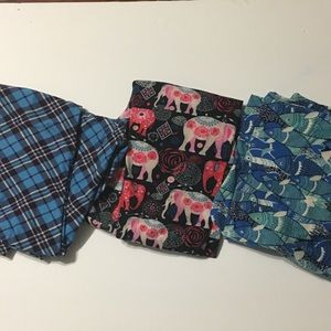 LuLaRoe leggings lot OS